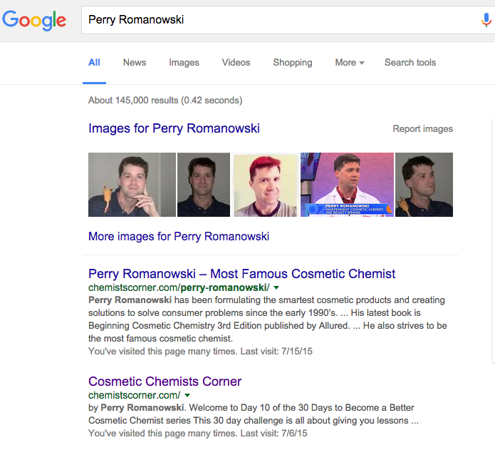 Google Perry Romanowski